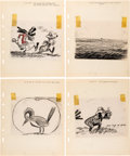 Animation Art:Production Drawing, African Diary Original Storyboards G...