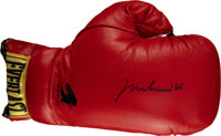 2000's Muhammad Ali Signed Boxing Glove & Photograph, PSA/DNA Gem Mint 10