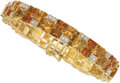 Estate Jewelry:Bracelets, Citrine, Diamond, Gold Bracelet . ...