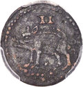 (1616) 2PENCE Sommer Islands Twopence, Large Star Below Hog, XF40 PCGS. Breen-6, British Monetary Authority Type Two, W-...