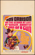 """Movie Posters:Western, The Fastest Guitar Alive & Other Lot (MGM, 1967). Fine/VeryFine. Window Cards (2) (14"""" X 22""""). Western.. ... (Tota..."""