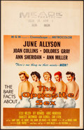 """Movie Posters:Drama, The Opposite Sex & Other Lot (MGM, 1956). Overall: Fine/VeryFine. Window Cards (2) (14"""" X 22""""). Drama.. ... (Total..."""