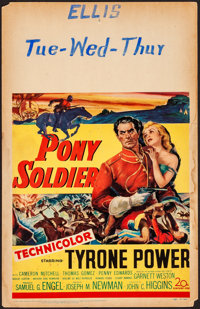 "Pony Soldier (20th Century Fox, 1952). Fine+. Window Card (14"" X 22""). Western"