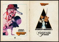 "A Clockwork Orange (Warner Brothers, 1971). Fine/Very Fine. Japanese Program (28 Pages, 8.25"" X 11.75""). Phili..."