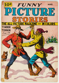 Funny Picture Stories #5 (Comics Magazine Co., 1937) Condition: VG-