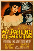 Movie Posters:Western, My Darling Clementine (20th Century Fox, 1946). Folded, Fi...