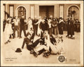 "Movie Posters:Comedy, The Rink (Mutual, 1916). Fine/Very Fine. Lobby Card (11"" X 14"").. ..."