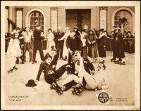 "The Rink (Mutual, 1916). Fine/Very Fine. Lobby Card (11"" X 14"")"