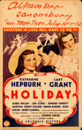 Movie Posters:Comedy, Holiday (Columbia, 1938). Fine/Very Fine. Window C...