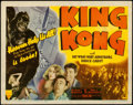 "Movie Posters:Horror, King Kong (RKO, R-1942). Fine/Very Fine. Title Lobby Card (11"" X 14"").. ..."