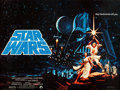 """Movie Posters:Science Fiction, Star Wars (20th Century Fox, 1977). Rolled, Very Fine. British Quad (30"""" X 40"""") Pre-Academy Award Style, Greg and Tim Hildeb..."""