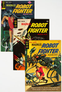 Magnus Robot Fighter File Copies Group of 40 (Gold Key, 1963-77) Condition: Average VF-.... (Total: 40 )