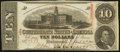Confederate Notes:1863 Issues, T59 $10 1863 PF-11 Cr. 429 Extremely Fine-About Uncirculated.. ...