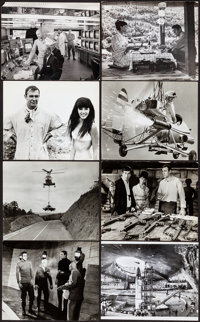 """You Only Live Twice (United Artists, 1967). Fine/Very Fine. Photos (15) (Approx. 8"""" X 10""""). James Bond. ... (T..."""