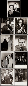 "Movie Posters:Film Noir, Night and the City (20th Century Fox, 1950). Very Fine-. Photos(18) (8"" X 10""). Film Noir.. ... (Total: 18 Items)"