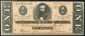 Confederate Notes:1864 Issues, T71 $1 1864 PF-10 Cr. 573A Extremely Fine.. ...