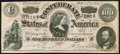 Confederate Notes:1864 Issues, T65 $100 1864 PF-2 Cr. 493 Choice About Uncirculated.. ...
