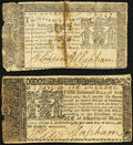 Colonial Notes:Maryland, Maryland January 1, 1767 $2 Fine;. Maryland April 10, 1774 $6 Very Fine.. ... (Total: 2 notes)