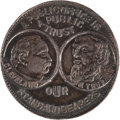 Political:Tokens & Medals, Cleveland & Thurman: Uniface Token.. ...