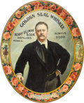 Political:3D & Other Display (1896-present), Theodore Roosevelt: Superb Lithographed Tin Tray.. ...