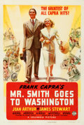 Movie Posters:Drama, Mr. Smith Goes to Washington (Columbia, 1939). Fine on Lin...