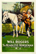 "Movie Posters:Comedy, The Headless Horseman (Hodkinson Pictures, 1922). Rolled, Fine. One Sheet (27"" X 41"") Style A.. ..."