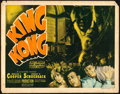 "Movie Posters:Horror, King Kong (RKO, R-1938). Fine. Title Lobby Card (11"" X 14"").. ..."