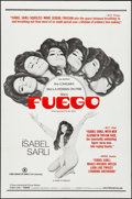 "Movie Posters:Adult, Fuego (Haven International Pictures, 1969). Folded, Very Fine-. One Sheet (27"" X 41""). Adult.. ..."