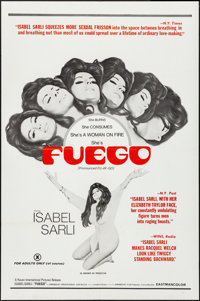"Fuego (Haven International Pictures, 1969). Folded, Very Fine-. One Sheet (27"" X 41""). Adult"