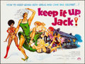Movie Posters:Comedy, Keep It Up, Jack (Variety, 1973). Folded, Very Fine-.