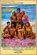 """Movie Posters:Adult, Surrender in Paradise (VCX, 1984). Folded, Very Fine-. One Sheet (27"""" X 41""""). Adult.. ..."""