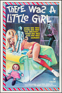 """There Was a Little Girl (Freeway Films, 1973). Folded, Overall: Fine/Very Fine. One Sheet (27"""" X 41"""") &amp..."""