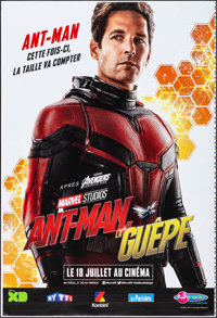 """Ant-Man and the Wasp (Marvel, 2018). Rolled, Very Fine+. Printer's Proof French Grande (46.5"""" X 69"""") DS Advanc..."""