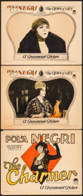 Movie Posters:Drama, The Charmer & Other Lot (Paramount, 1925). Fine/Very Fine....
