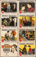 "Movie Posters:Drama, Coming Through (Paramount, 1925). Very Fine. Lobby Card Set of 8 (11"" X 14""). Drama.. ... (Total: 8 Items)"