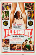 "Fleshpot on 42nd Street (William Mishkin Motion Pictures Inc., 1973). Folded, Fine/Very Fine. One Sheet (27"" X 41&q..."