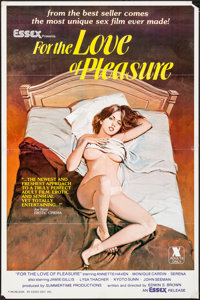 """For the Love of Pleasure (Essex, 1979). Folded, Very Fine-. One Sheet (25"""" X 38""""). Adult"""