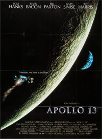 "Apollo 13 (Universal, 1995). Folded, Very Fine+. French Commercial Poster (45.5"" X 62""). Drama"
