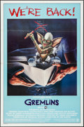 Movie Posters:Horror, Gremlins (Warner Brothers, R-1985). Folded, Very Fine....