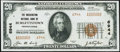 National Bank Notes:Pennsylvania, Burgettstown, PA - $20 1929 Ty. 2 The Washington National Bank Ch. # 6944 About Uncirculated.. ...