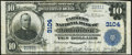 National Bank Notes:Pennsylvania, Kittanning, PA - $10 1902 Plain Back Fr. 624 The Farmers National Bank Ch. # 3104 Very Fine.. ...