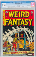 Golden Age (1938-1955):Science Fiction, Weird Fantasy #22 Gaines File Pedigree 7/11 (EC, 1953) CGC NM 9.4 White pages....