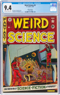 Golden Age (1938-1955):Science Fiction, Weird Science #8 Gaines File Pedigree (EC, 1951) CGC NM 9.4 Off-white to white pages....