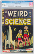 Golden Age (1938-1955):Science Fiction, Weird Science #7 Gaines File Pedigree (EC, 1951) CGC NM 9.4 Cream to off-white pages....