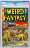 Golden Age (1938-1955):Science Fiction, Weird Fantasy #17 Gaines File Pedigree 10/12(EC, 1953) CGC NM 9.4 White pages....