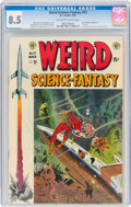 Golden Age (1938-1955):Science Fiction, Weird Science-Fantasy #23 (EC, 1954) CGC VF+ 8.5 Off-white to white pages....