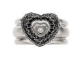 Estate Jewelry:Rings, Colored Diamond, Diamond, White Gold Ring, Chopard...