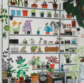 Prints & Multiples:Contemporary, Jonas Wood X Voorlinden. Large Shelf Still Life, poster, 2017. Offset lithograph in colors on smooth wove paper. 23-3/8 ...
