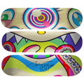 Collectible, Takashi Murakami X ComplexCon. Dobtopus (three works), 2017. Screenprints in colors on skate decks. 8 x 32 inches (20.3 ... (Total: 3 Items)