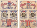 Political:Small Paper (1896-present), Theodore Roosevelt: Great White Fleet Mechanical Postcards...